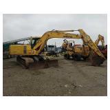 Komatsu PC120LC trackhoe excavator