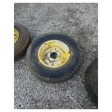 7.00-15,  tire and wheel, 5 bolt