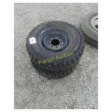 L245/75/16 mud tires 8 bolt rims (2)