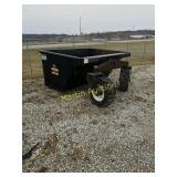 Eskine skid loader dump bucket