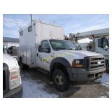 2005 Ford F550 Canopy Truck - VUT