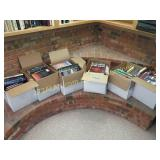 6 boxes of books, preview to see all titles