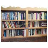 6 shelves of books