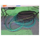 hoses under the table