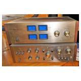 Pioneer QM-500 Amplifier & QC-800 Preamplifier