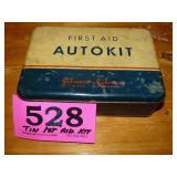Automotive First Aid Tin