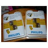 Phillips 6-Foot Stereo, Audio + s-Video Cables x4
