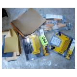 Clamps Screws & Feather Boards