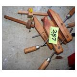 Craftsman Wood Clamps X3 & Mortise Gauges X2