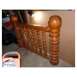 Cannon Ball Wood Banister / Divider