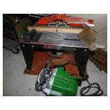 Rotor Table & Router