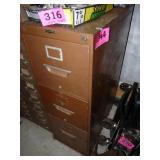 Sunshine 3-Drawer File Cabinet