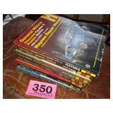 Haynes Manuals x7