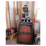 """Craftsman 10"""" Radial Saw on Stand"""