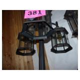 Outdoor Lamp Post & Lantern