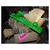 Box FULL of Sandpaper & Hand Sander