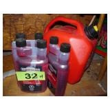 Fuel Stabilizer X3 & Gas Can
