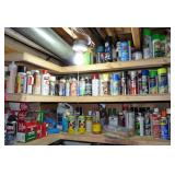 3 Shelves Full of Creosodes, Cleaners etc!!