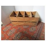 Wooden Crate  26 X 12 X 12