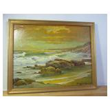 Painting Signed Robert Wood