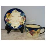 Pretty Pansies Cup & Saucer