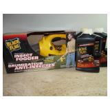 NIB Black Flag Insect Fogger & Insecticide X 3