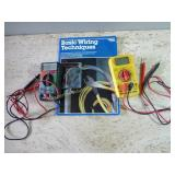 Electrical Testers & Basic Wiring Book