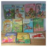 10 Hardcover Disney Books & 1 Clifford