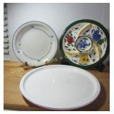Royal Oak Platter, Sectional Dish, Microwave Tray