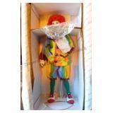 "The Danbury Mint ""Rainbow The Circus Clown"""
