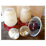 Chicken Feeders / Waterers, Lamps & Bulbs