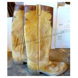 """Boulet"" Western Style Boots"