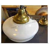 Vintage Pendant Light Fixture #2