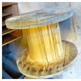 Industrial Wood Spool