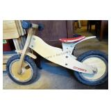 """Runners"" Wooden Bike"