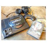 Sega Genesis 16-bit Console w Controller & 2 Games