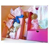 Barbie Doll, Case, Clothes