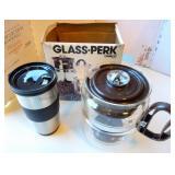 Coffee Percolator & Travel Mug
