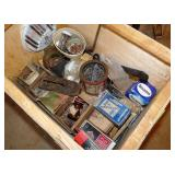 Miscellaneous Lot in a Wood Box