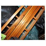 Plate Rails / wood