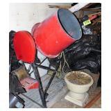 Cement Mixer & Motor