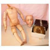 Antique Heinrich Handwerck / Simon & Halbig Doll