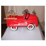 """The Fire Chief"" Metal Fire Truck 10L"
