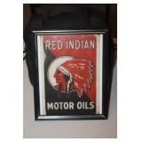 Red Indian Print 8 x 10