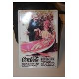 Tin Coca Cola Sign 8 x 12