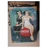 Coca Cola Tin Sign 8 x 12