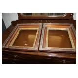 2 Antique Picture Frames 11.5 x 14.5