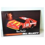 Bill Elliott Tin Sign 11 x 16