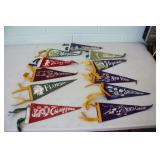 Selection of Felt Pennants