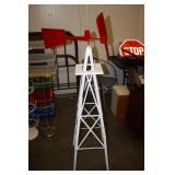 Metal Windmill 54H